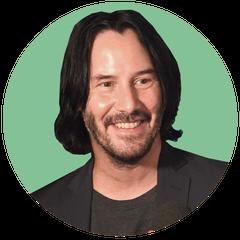 """Keanu Reeves, """"Neo"""""""